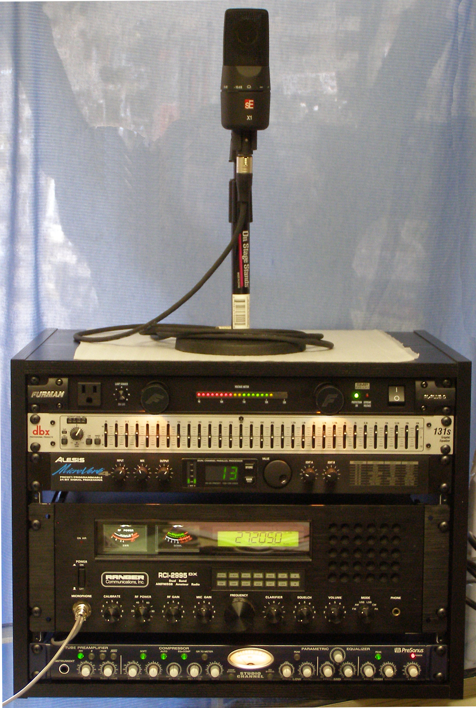 Custom Built Digital Audio Rack